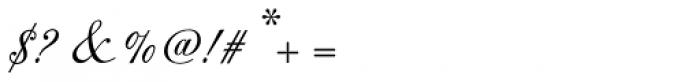 Original Script Std Font OTHER CHARS