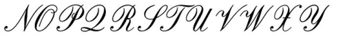 Original Script Std Font UPPERCASE