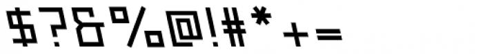 Originator Bold Backslant Font OTHER CHARS
