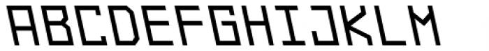 Originator Bold Backslant Font UPPERCASE