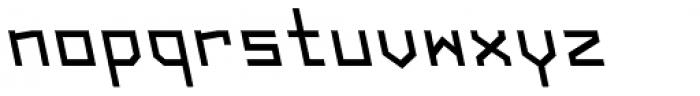Originator Bold Backslant Font LOWERCASE