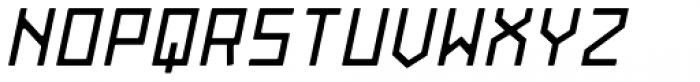 Originator Rounded Bold Italic Font UPPERCASE
