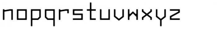 Originator Rounded Font LOWERCASE