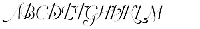 Orlando Samuels Pro Light Font UPPERCASE