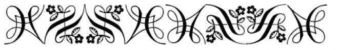 Orn6 AR Font UPPERCASE