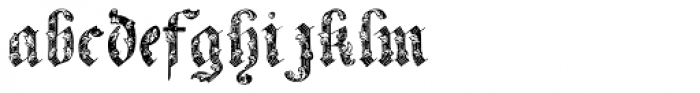 Ornamental Riband Font LOWERCASE