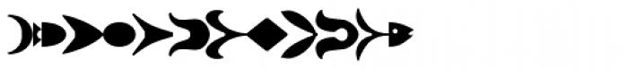 Ornamental Rules EF Regular Font LOWERCASE