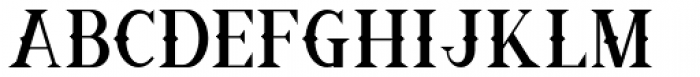 Ornamental Versals Black Font LOWERCASE