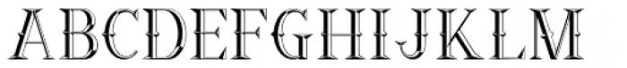 Ornamental Versals Font LOWERCASE