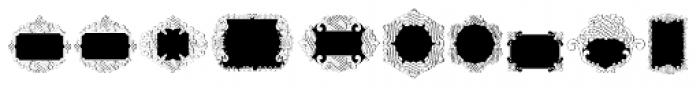 Ornate Blackboards Two Font LOWERCASE