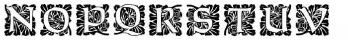 Ornate Initials Style Three Font LOWERCASE