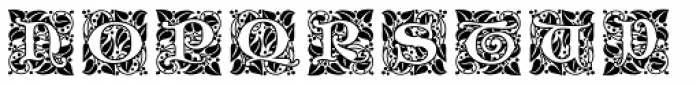 Ornate Initials Style Two Font UPPERCASE