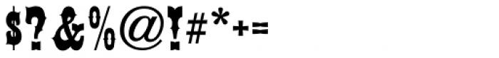 Ornery Polecat JNL Font OTHER CHARS