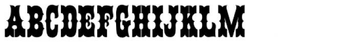Ornery Polecat JNL Font UPPERCASE