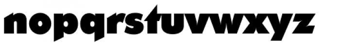 Ornitons TS Heavy Font LOWERCASE