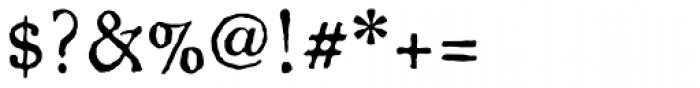 Oronteus Finaeus Small Caps Font OTHER CHARS