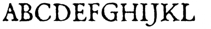 Oronteus Finaeus Small Caps Font UPPERCASE