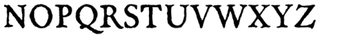 Oronteus Finaeus Small Caps Font LOWERCASE