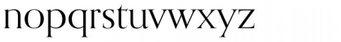 Orpheus Pro Font LOWERCASE