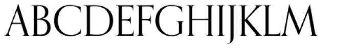 Orpheus SC Font UPPERCASE
