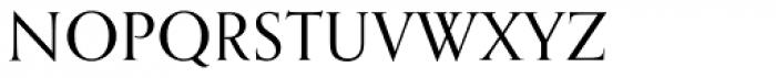 Orpheus SC Font LOWERCASE