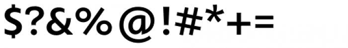 Orqquidea Sans Demi Bold Font OTHER CHARS