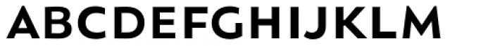 Orqquidea Sans Demi Bold Font LOWERCASE