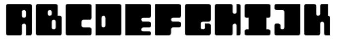 Orthotopes Font UPPERCASE