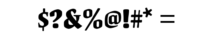 OrigamiStd-Bold Font OTHER CHARS