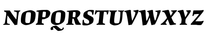 OrigamiStd-BoldItalic Font UPPERCASE
