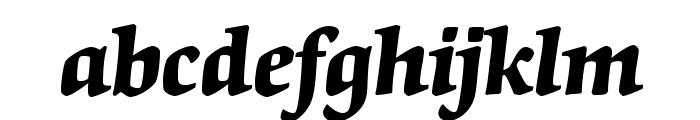 OrigamiStd-BoldItalic Font LOWERCASE