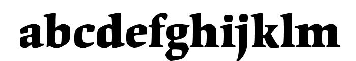 OrigamiStd-Bold Font LOWERCASE