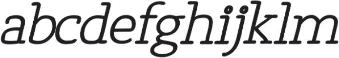 Osgood Slab otf (700) Font LOWERCASE