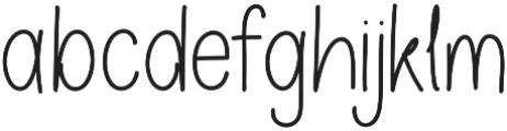 Oskosh otf (400) Font LOWERCASE