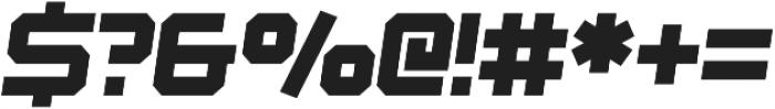 Osmica Extra Light Italic otf (200) Font OTHER CHARS