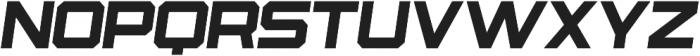 Osmica Extra Light Italic otf (200) Font LOWERCASE