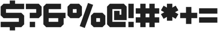 Osmica Extra Light otf (200) Font OTHER CHARS