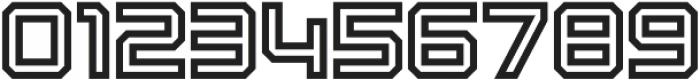 Osmica Regular Inline otf (400) Font OTHER CHARS
