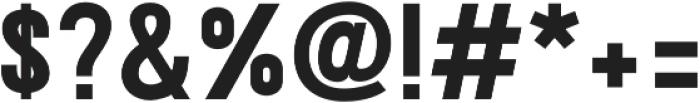 Ostrich Proper ExtraBold otf (700) Font OTHER CHARS