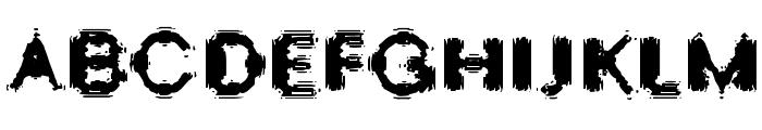 Oscillate Regular Font UPPERCASE