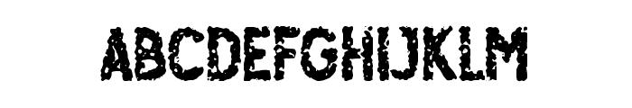 Osgiliath Noise Font LOWERCASE