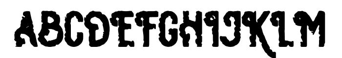 Osgiliath Rough Font UPPERCASE