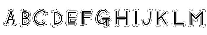 Oshare Font UPPERCASE