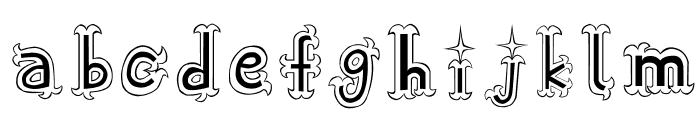 Oshare Font LOWERCASE