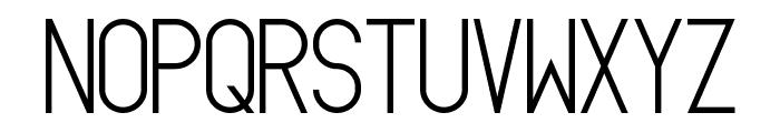 Oslo II Bold Font LOWERCASE