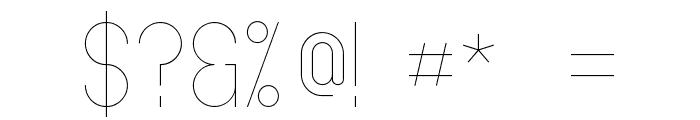 Oslo II Font OTHER CHARS