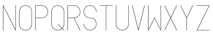 Oslo II Font UPPERCASE