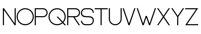 Oslo III Bold Font UPPERCASE