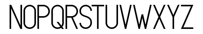Oslo III Bold Font LOWERCASE