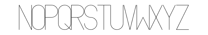 Oslo Font LOWERCASE